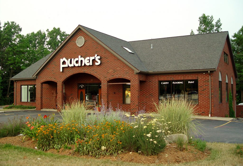 Puchers Berea building | Pucher's Decorating Centers