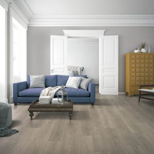 Laminate flooring at living room | Pucher's Decorating Centers
