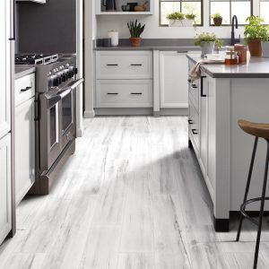 White vinyl floor | Pucher's Decorating Centers