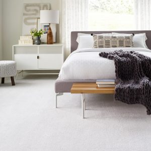 White bedroom carpet | Pucher's Decorating Centers