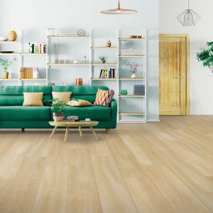 Laminate flooring of living room | Pucher's Decorating Centers