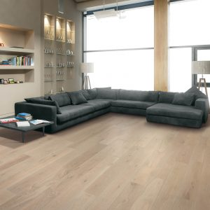 Vinyl flooring of living room | Pucher's Decorating Centers