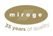 Mirage logo | Pucher's Decorating Centers
