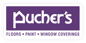 Puchers logo | Pucher's Decorating Centers