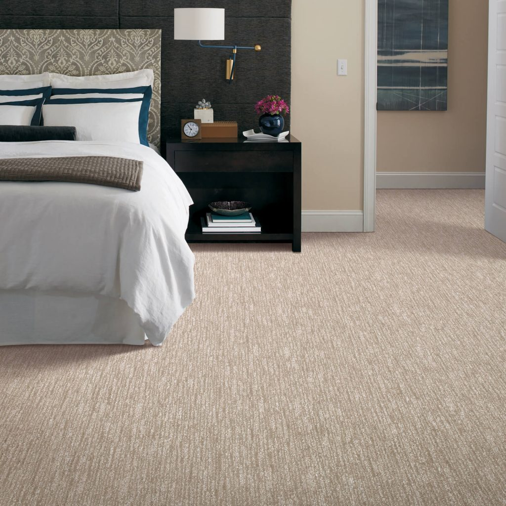 New carpet in bedroom | Pucher's Decorating Centers