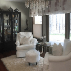 Puchers design living room | Pucher's Decorating Centers