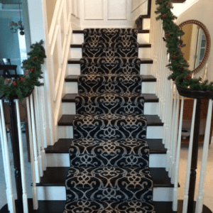 Puchers design stairway | Pucher's Decorating Centers