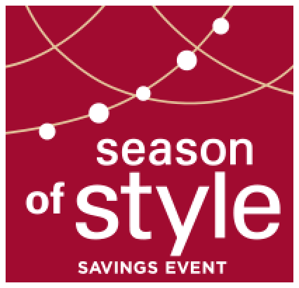 Season of style savings event   Pucher's Decorating Centers