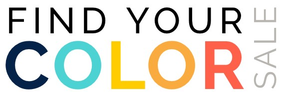 find your color sale logo | Pucher's Decorating Centers