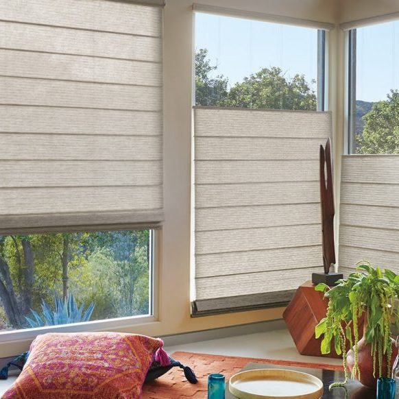 Light filtering fabrics window treatments | Pucher's Decorating Centers